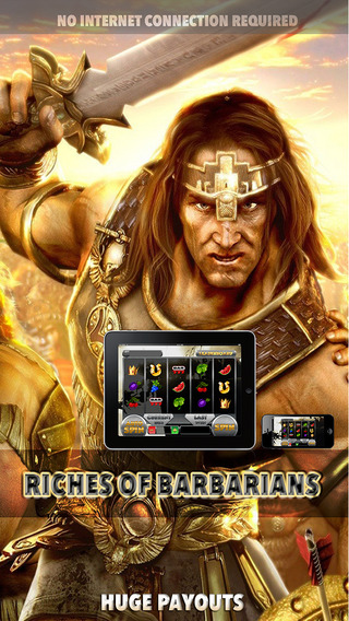 Riches of Barbarians Slots - FREE Las Vegas Game Premium Edition Win Bonus Coins And More With This