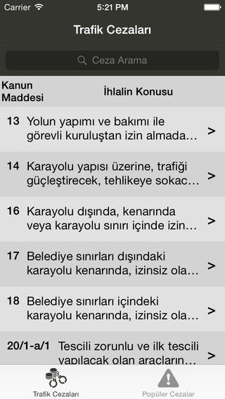 玩免費書籍APP|下載Trafik Cezaları app不用錢|硬是要APP
