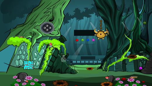736 Golden Snail Escape Screenshot