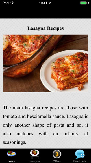 Lasagna Recipes - American Style