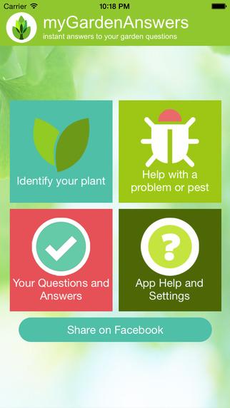 Garden Answers Plant - Disease Identifier