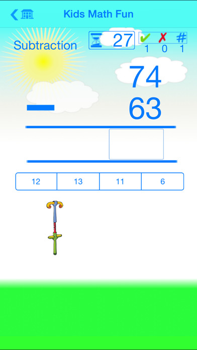 Kids Math Fun~Second Grade iPhone Screenshot 3