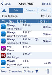 top 20 alternative apps to everlance mileage log expense tracker