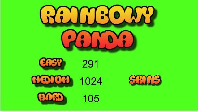 Rainbowy Panda