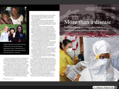 Emory Health Magazines iPad Screenshot 3