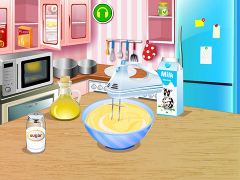 Super Birthday Cake HD - The hottest cake games for girls and kids