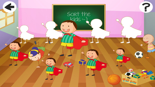 Active School-Kids and Fun-ny Child-ren Game-s