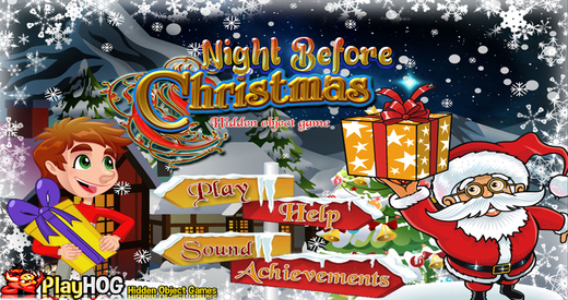 Night before Christmas - Free Hidden Object Games