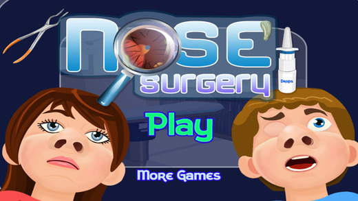 Nose Surgery - Crazy surgeon and flu doctor clinic game
