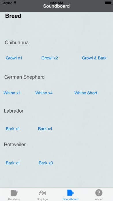 Dog Years Calculator iPhone Screenshot 1