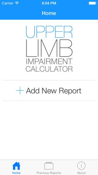 UL Impairment Calculator