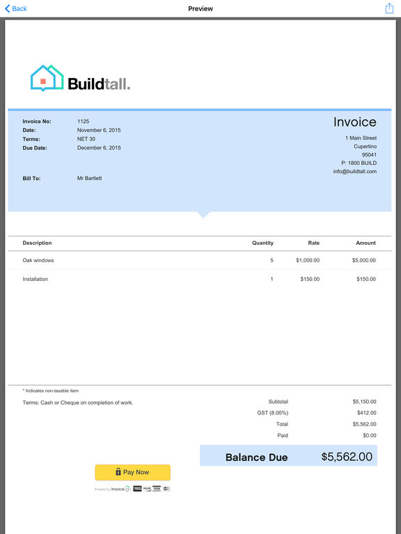 Download best free invoice app for ipad rabitahnet for Download invoice app