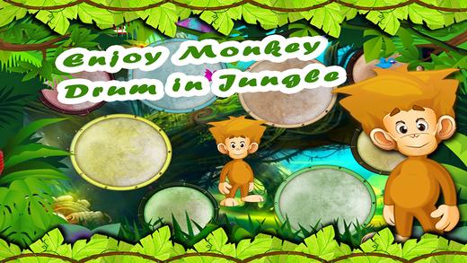 Monkey Baby Drums - Kids Musical Drumming Station