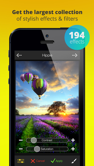 FX Photo Studio - photo editor filters effects camera plus frames for your great pictures