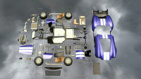 3D汽车拆解:Car Disassembly 3D