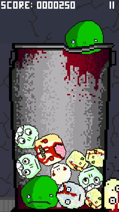 Zombie Heads iPhone Screenshot 2
