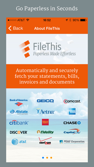FileThis – Track Bills Financial Personal Accounts Statements Receipts