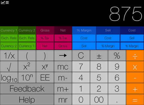 MarginCalc iPad Screenshot 3
