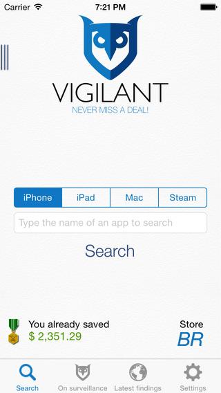 Vigilant - Never miss a Deal