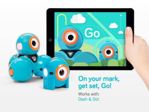 Go for Dash Dot robots - for iPad