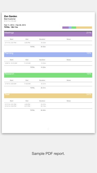 ClockedIn 2 iPhone Screenshot 5