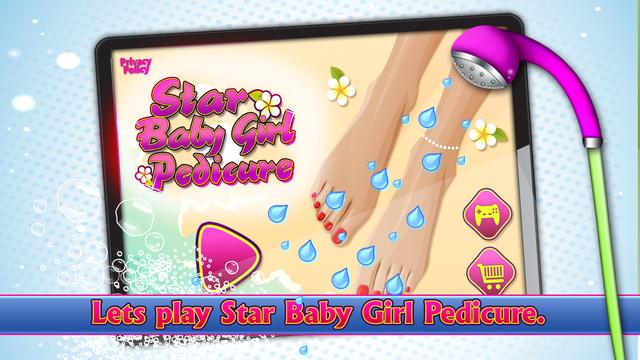 Star Baby Girl Pedicure