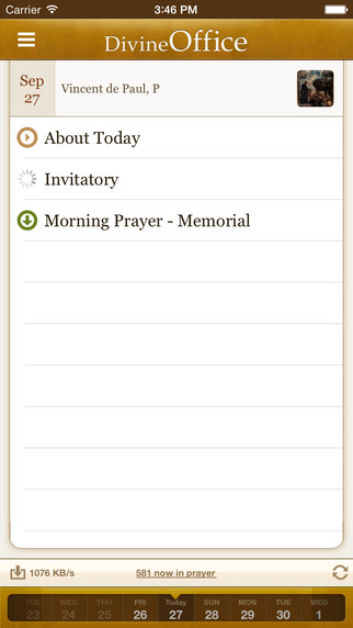 Morning Prayer Lauds - Text and Audio Liturgy of the Hours by DivineOffice.org