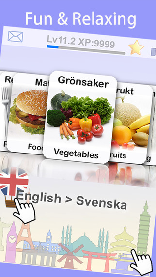 Learn Swedish Vocabulary with Baby FlashCard by LingoCards Free