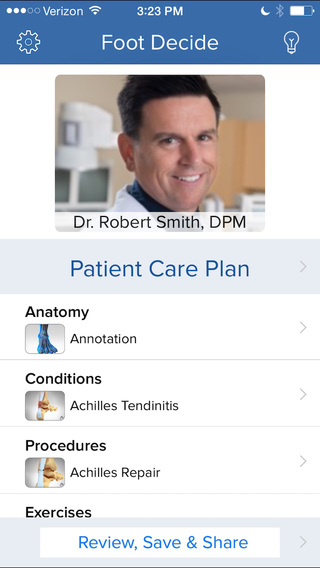 Foot Decide - Patient Engagement Tools for Healthcare Providers