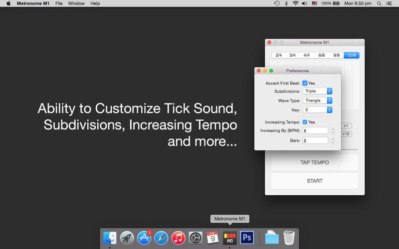 Metronome M1 for Mac 1.2 破解版 - 节拍器M1