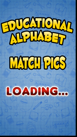 A Aaron Educational Alphabet Match Pictures