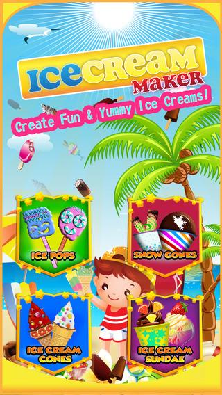 Ice Cream Maker - Frozen Dessert For Kids