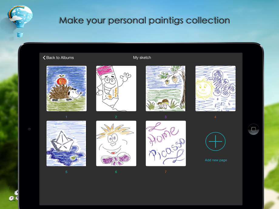 Home Picasso Your Drawing Painting Sketchbook Ios