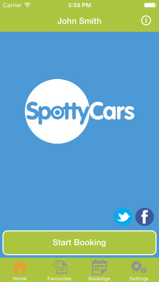 Spotty Cars Minicab and Taxi Cabs London Booking app
