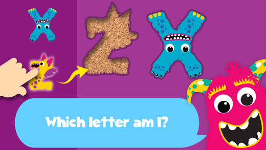 My first alphabet and letters monster puzzle Pro Jigsaw Game for toddlers and preschoolers