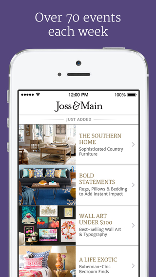joss main furniture home decor more on the app store on itunes. Black Bedroom Furniture Sets. Home Design Ideas