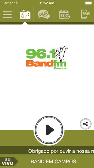 Band FM Campos 96 1
