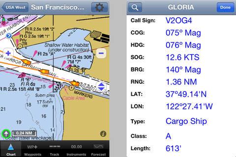 iNavX - Marine Chartplotter screenshot 4