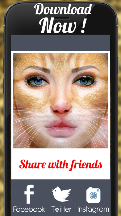 Screenshots of Animal Face Animation - Funny Movie Maker With Blend,Morph & Transform Effect for iPhone
