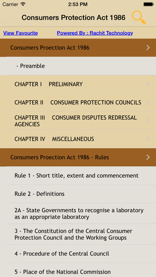 Consumers Protection Act