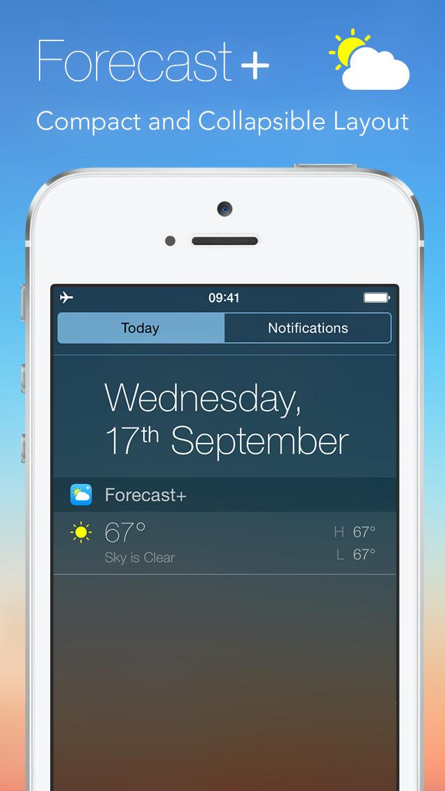 Forecast plus | Weather & Forecast Widget screenshot 2