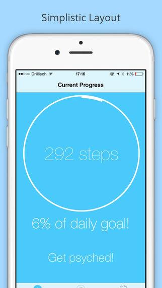 Walk-A-Bit Step Counter and Widget