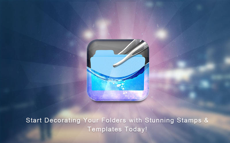 Folder Stamps  Templates Screenshot - 5