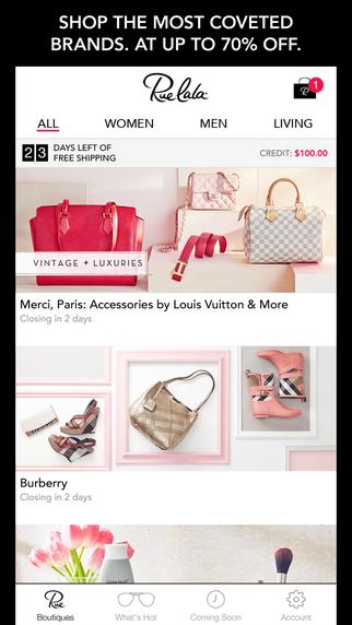Rue La La-Shop Designer Apparel at Up to 70 Off