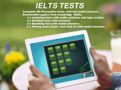 IELTS Tests All in One剑桥雅思真题测试英単語テスト本気で