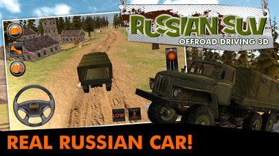 Russian SUV Offroad Driving 3D screenshot 1