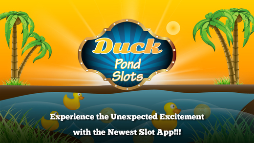 Action Duck Pond Slots Action - Spin the Lucky Slots to Win Gold