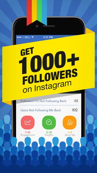 Followers Tracker for Instagram - free follow and unfollow tracker app
