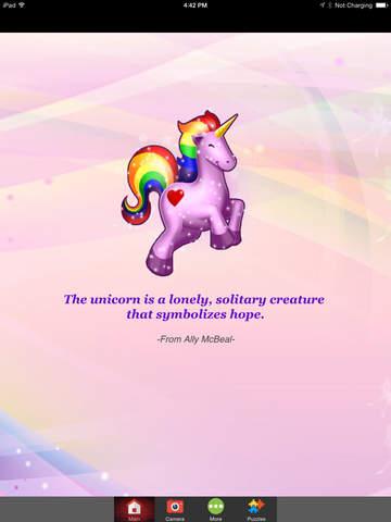 Magic Little Pony Unicorn Photo Frames for Girls FREE