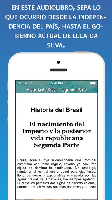 Historia del Brasil II (desde el Imperio al siglo XXI) iPhone Screenshot 2